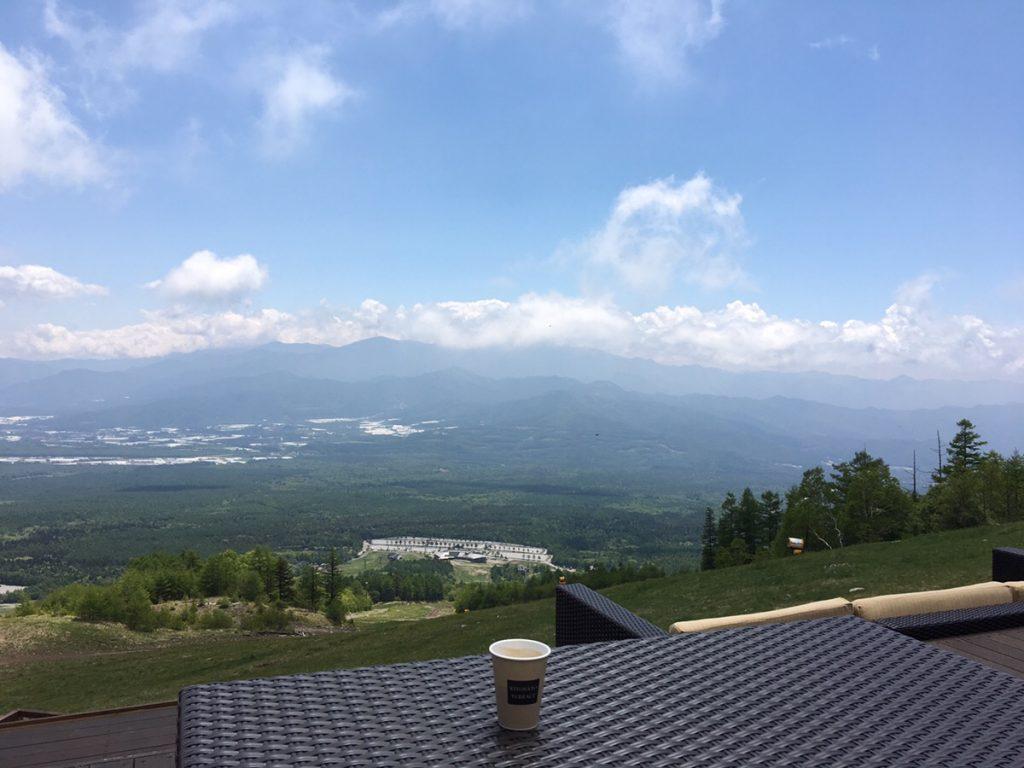 【北杜市】標高1,900mの喫茶店清里テラスの景色は最高だった。ただし・・・